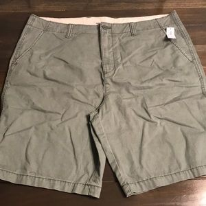 Men's Green Old Navy Straight Fit Shorts